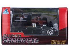 Гоночный автомобиль, машинка мини, черная, GW