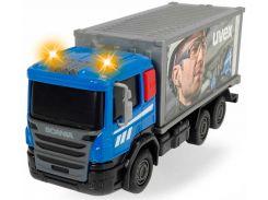 Грузовик для дорожных работ со светом и звуком, Dickie Toys