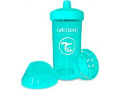 Детская чашка 360 мл., 12+ мес.,  бирюзовая, Twistshake
