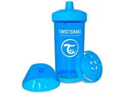 Детская чашка 360 мл., 12+ мес.,  голубая, Twistshake