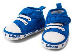 Детские домашние кеды, Danaya, синие (19)