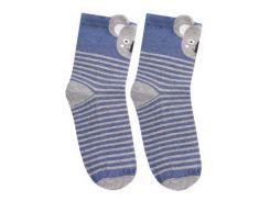 Детские носки с коалой, Duna, джинс, 12-14
