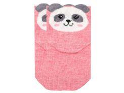 Детские носки с пандой, Duna, розовые 12-14 (20-22)
