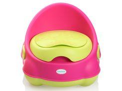 Детский горшок Изобретатель, розово-зелёный, Babyhood