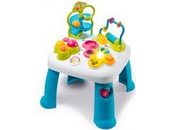 Детский игровой стол Cotoons Лабиринт со звуковыми и световыми эффектами, голубой, Smoby Toys