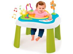 Детский игровой стол Cotoons Цветочек со съемным стулом (звук, свет), Smoby Toys