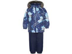 Детский комплект Avery, Huppa, темно-синий с принтом-темно-синий 2 (92)
