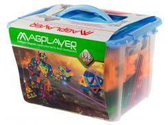 Детский магнитный конструктор 198 деталей, MagPlayer