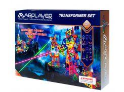 Детский магнитный конструктор 218 деталей, MagPlayer
