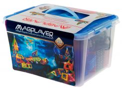 Детский магнитный конструктор 268 деталей, MagPlayer