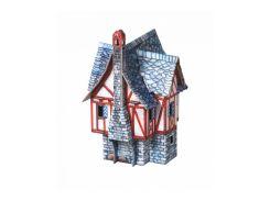 Дом купца, Сборная модель из картона, Умная бумага