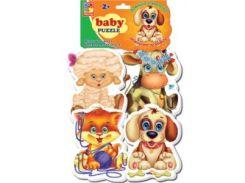 Домашние любимцы, Baby Puzzle (VT1106-07), Vladi Toys