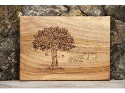 Доска ореховая прямоугольная S, EcoWalnut