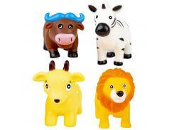 Животные-брызгалки для ванной Зоопарк (4 шт.), BeBeLino
