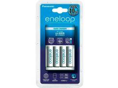 Зарядное устройство Basic Charger + Eneloop 4AA 1900 mAh New, Panasonic