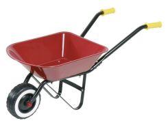 Игровая садовая одноколёсная тележка, красная, Goki