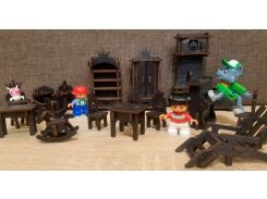 Игрушечная мебель Будинок мрій темно-коричневая (bud-007)