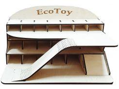 Игрушечный гараж, средний, ЕcoToy