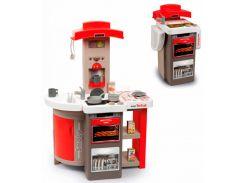 Интерактивная кухня Тефаль Повар раскладная с аксессуарами (красная), Smoby Toys