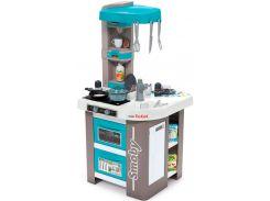 Интерактивная кухня Тефаль Студио Френч с аксессуарами и звуковым эффектом (голубая), Smoby Toys