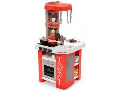 Интерактивная кухня Тефаль Студио Френч с аксессуарами и звуковым эффектом (красная), Smoby Toys