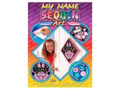 Картинка из пайеток Bunny, My name, Sequin Art