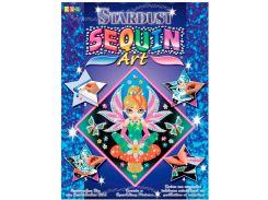 Картинка из пайеток Фея, Stardust, Sequin Art