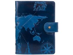 Картхолдер HiArt CH-06 Crystal Blue 7 wonders of the world (CH-06-C19-4026-T002)