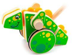 Каталка Динозавр, Мир деревянных игрушек