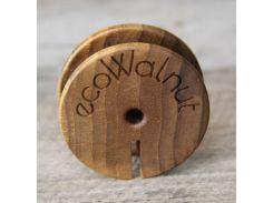 Катушка для наушников, EcoWalnut