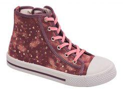 Кеды для девочек 5517-1434, пурпурные, Lapsi (Arial) (35)