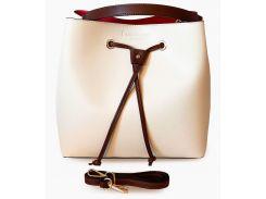 Кожаная сумка Elisa (beige), Dante Agostini
