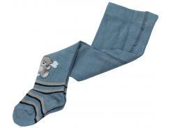 Колготки детские серо-голубые, Duna, 62-68 (16-17)