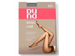 Колготки женские без шортиков 40 Den, Duna, черный (размер 2)
