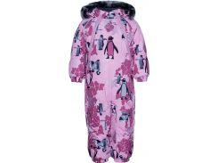 Комбинезон для малышей Orion, Huppa, светло-розовый с принтом (80)