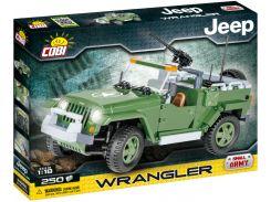 Конструктор Военный джип Wrangler, серия Small Army, Cobi