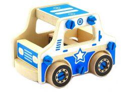 Конструктор Полиция, Мир деревянных игрушек