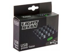 Конструктор с LED подсветкой USB, Smart Base, Junior, Light STAX