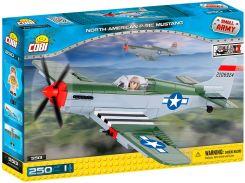 Конструктор Самолет North American P-51C Mustang, серия Small Army, Cobi
