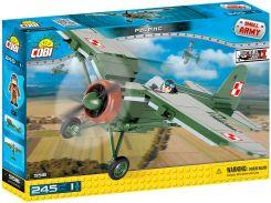 Конструктор Самолет PZL P.11C, серия Small Army, Cobi