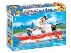 Конструктор Спасательный катер, серия Action Town, Cobi