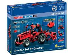 Конструктор Трактор с ДУ, 540 деталей, Fischertechnik