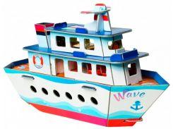 Кораблик, сборная модель из картона, Умная бумага