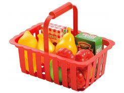 Корзина для супермаркета (красная), Ecoiffier