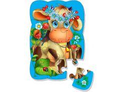 Коровка, пазл на магните, Vladi Toys