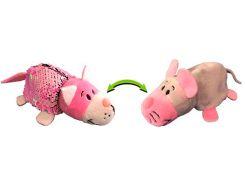 Кот и Мышка (12 см), мягкая игрушка с пайетками, ZooPrяtki