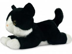 Котенок черно-белый, мягкая игрушка, 25 см, Aurora