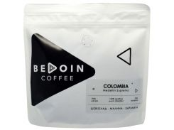 Кофе в зернах Bedoin Coffee Colombia Medellin Supremo 250 г (101-2)