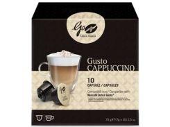 Кофе молотый в капсулах Go Caffe Dolce Guisto Cappucino 10 шт (8003286009172)