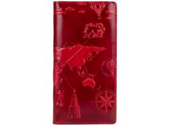 Кошелек HiArt WP-05 Crystal Red 7 wonders of the world (WP-05-C19-1652-T002)